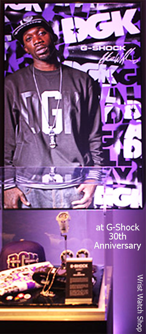 stevie williams dgk x g-shock collaboration watch 2013