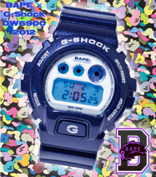 dw6900_x_bape_2012 g-shock collaboration watch bathing ape