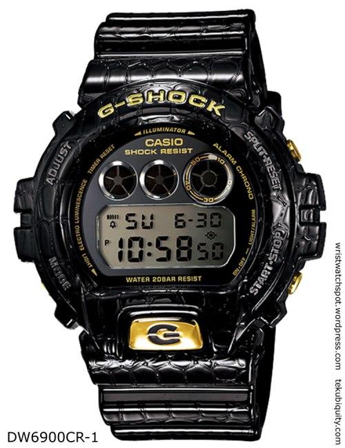 dw6900cd-1 reptile g-shock  lizard crocodile new watch price 2012