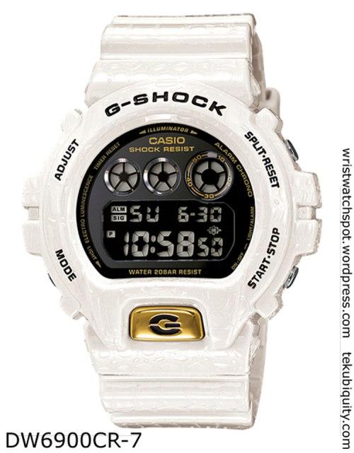 dw6900cd-7 reptile g-shock  lizard crocodile new watch price 2012
