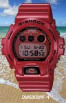 dw6900mf-4 g-shock metallic finish mirrored lcd dial high gloss classic