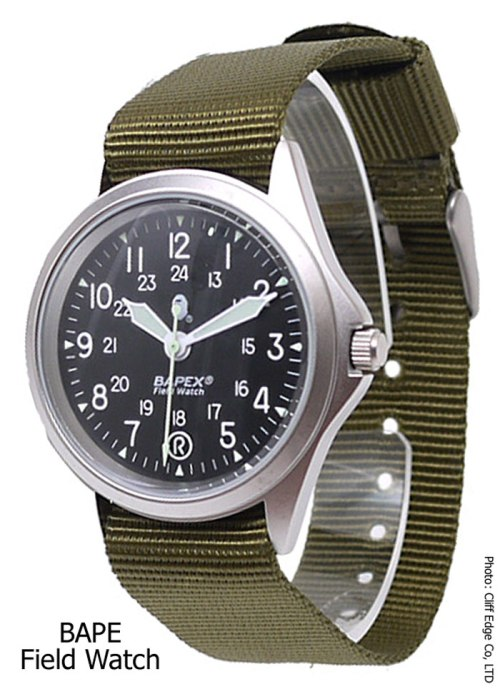 field_watch_bape_2012 military inspired a bathing ape