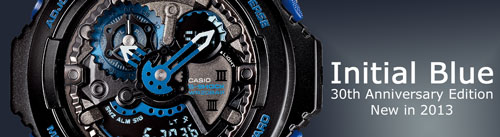initial blue g-shock watches special limited edition eric haze