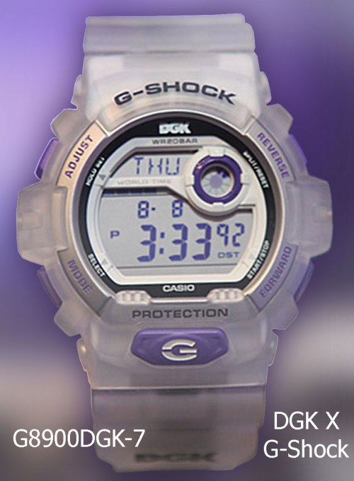 g-shock x g8900dgk-7 stevie williams x dgk 2013 collaboration watch