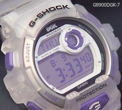 g8900dgk-7 x g-shock collaboration watch stevie williams