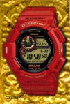 g9330a-4 g-shock 30th anniversary rising red mudman