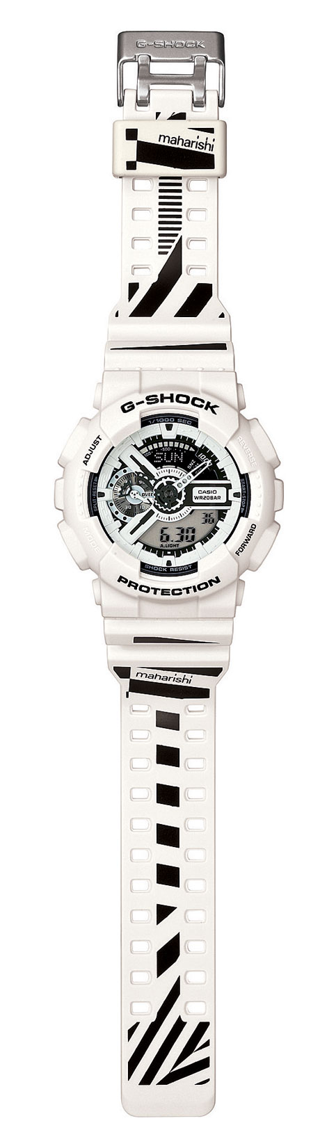 GA110MH-7A g-shock x maharishi watch 2012 collaboration