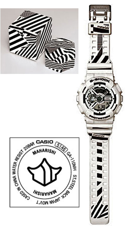 GA110MH-7A g-shock watch x maharishi 2012 collaboration