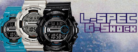 gd-110 g-shock lap timer l-spec athlete watch mnm mars rover