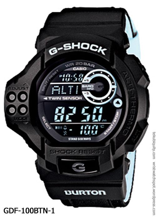 gdf-100btn-1_2012_burton g-shock casio special limited edition snowboard