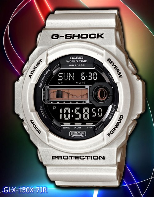 GLX150X-7 in4mation x g-shock casio collaboration watch 2012 g-lide