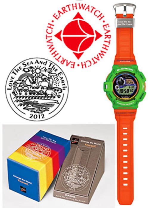 GW9300K-3_2012_earchwatch g-shock watch collaboration i.c.e.r.c. love the sea and the earth whales dolphins