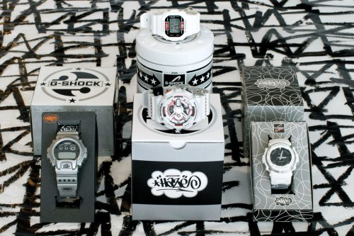 haze-x-g-shock eric collaborations new 2012 collectible watches