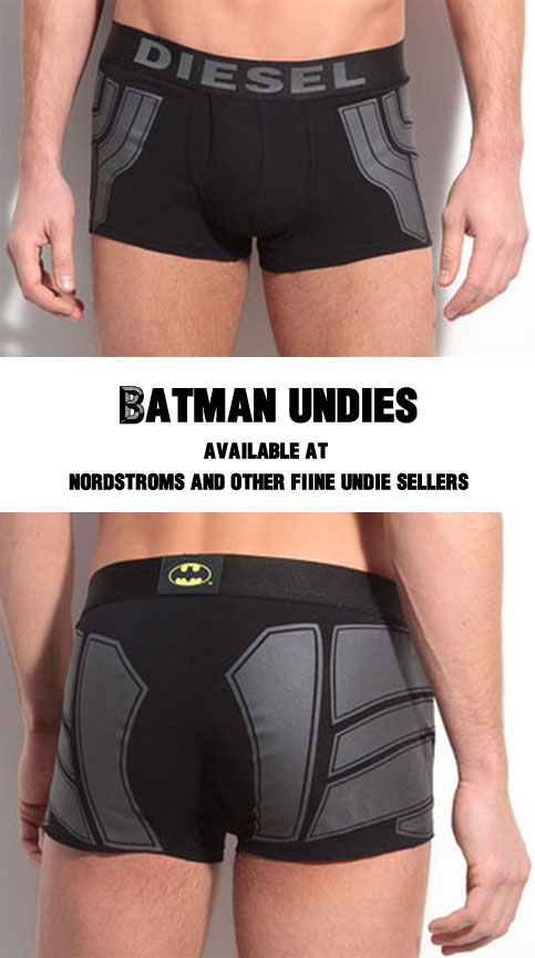 dark knight underwear underpants panties batman tighty blackies