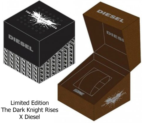batman bane dark knight special edition watch diesel package