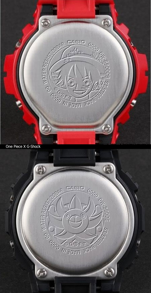 monkey_d_luffy_mugiwara g-shock collaboration watch 2012