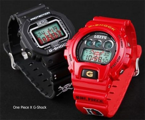 mugiwara_pirates_monkey_d luffy g-shock collaboration watch 2012