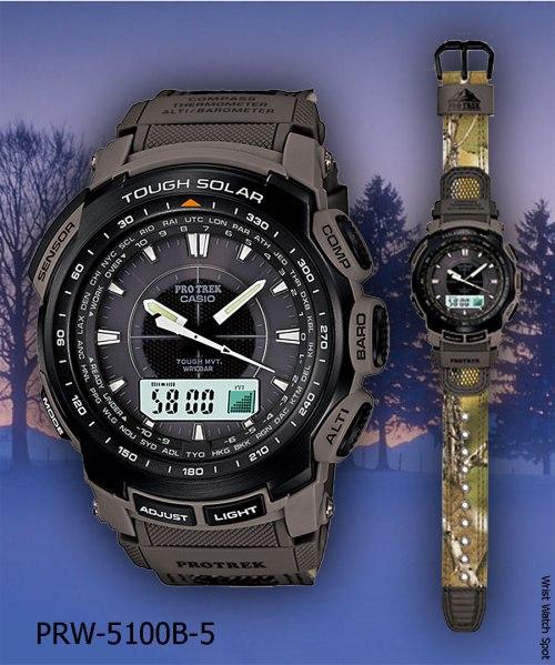 PROTREK PRX-7000ST-7 PRW-5050R-7 PRW-5100B-5 PRW-S2500-1 PRW-S5100-1 2012