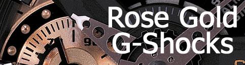 rose gold g-shock 2012 ga110rg-1a ga110rg-7a ga200rg-7a