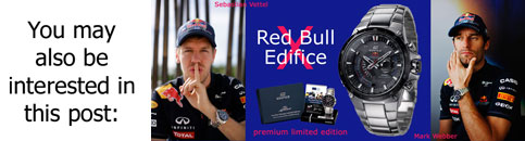 vettel_webber_red_bull edifice casio 2011 collaboration watch