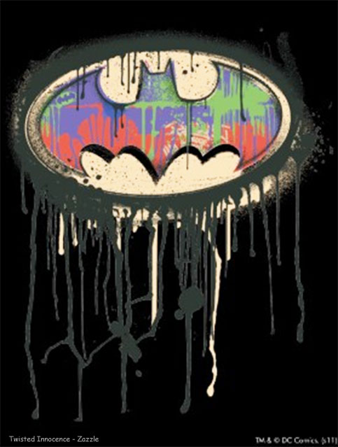 zazzle batman twisted innocence graphic dark knight rises 2012