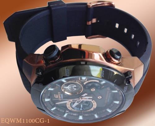 rose gold edifice eqwm1100cg watch casio