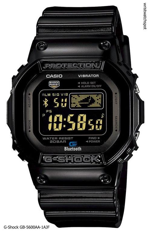-shock_gb-5600aa-1a_iphone 4s 5 apple g-shock bluetooth smart watch