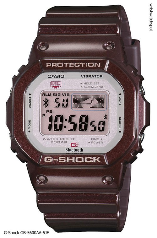 g-shock_gb-5600aa-5_iphone 4s 5 apple g-shock bluetooth smart watch