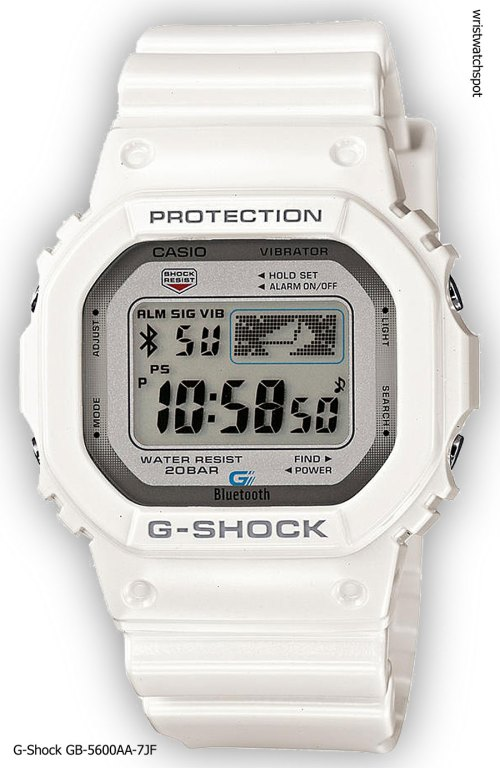 g-shock_gb-5600aa-7_iphone 4s 5 apple g-shock bluetooth smart watch