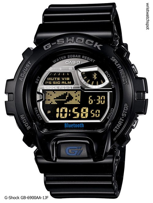 g-shock_gb-6900aa-1_iphone 4s 5 apple g-shock bluetooth smart watch