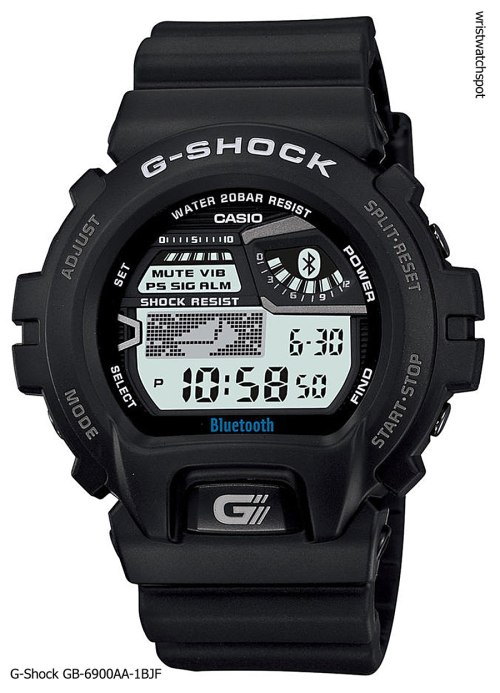 g-shock_gb-6900aa-1b_iphone 4s 5 apple g-shock bluetooth smart watch