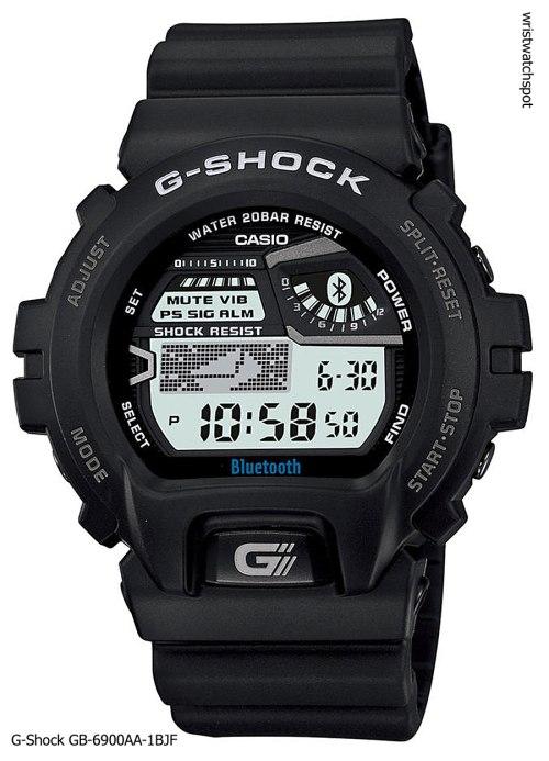 g-shock_gb-6900aa-1b_iphone 4s 5 apple g-shock bluetooth smart watch