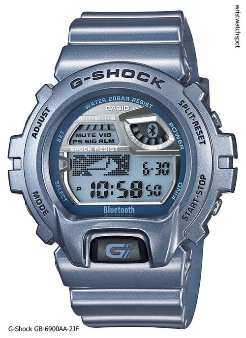 g-shock_gb-6900aa-2_iphone 4s 5 apple g-shock bluetooth smart watch