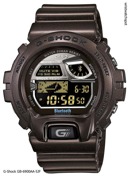 g-shock_gb-6900aa-5_iphone 4s 5 apple g-shock bluetooth smart watch