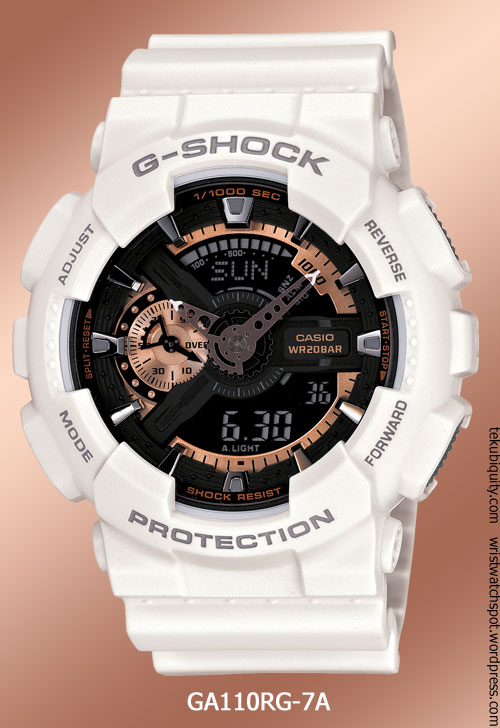 ga110rg-7a_rose_gold g-shock casio 2012 watch
