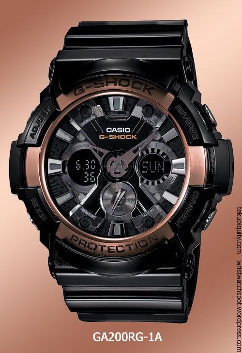 ga200rg-1a_rose_gold1 g-shock watch 2012 new price