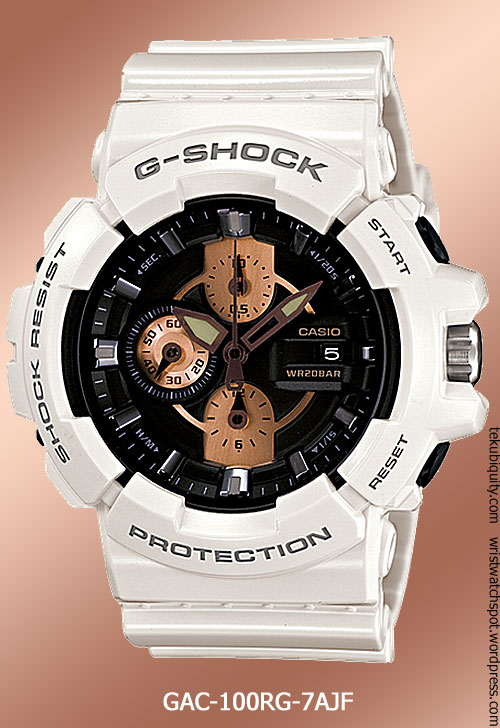 gac100rg-7a rose gold g-shock casio new 2012 price