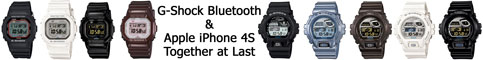 gb-5600aa_gb-6900aa_iphone 4s 5 apple g-shock bluetooth smart watch