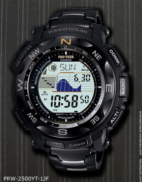 protrek_prw-2500yt-1jf_2012 casio new watch price japan