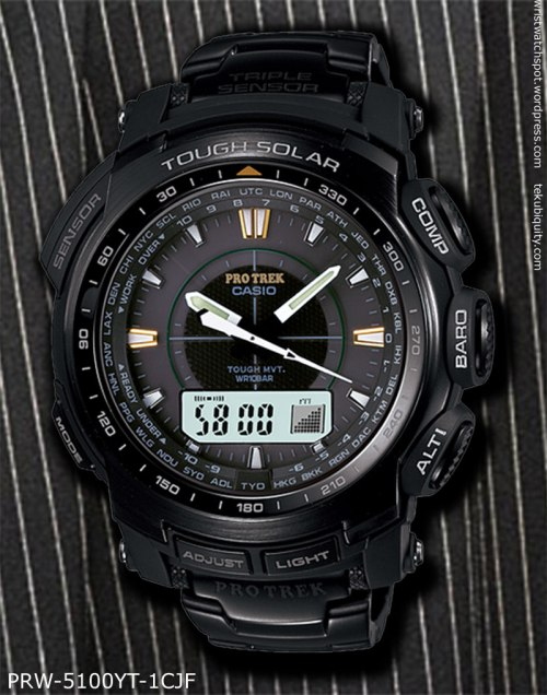 protrek prw-5100yt-1c 2012 casio new watch price compare