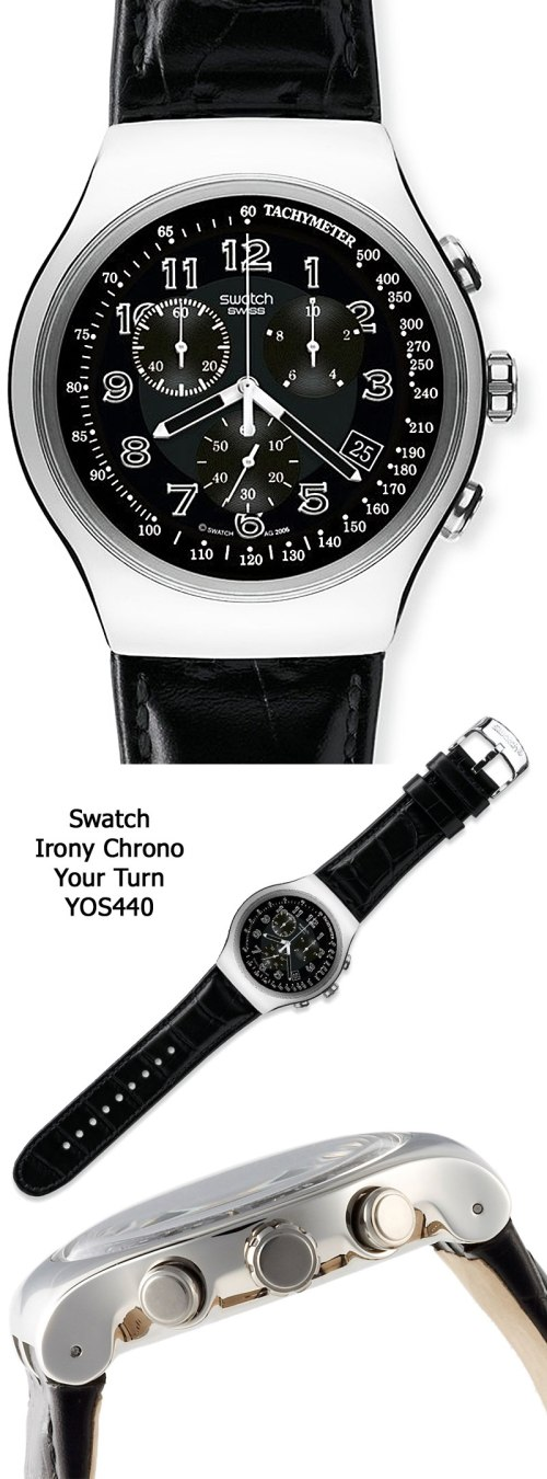 swatch_irony_yos440.your turn chronograph bargain budget watch 2012 slim thin