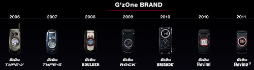 casio gzone phone cell  boulder rock commando brigade history