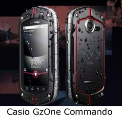 casio gzone commando phone cell smart new 2011 2012 android