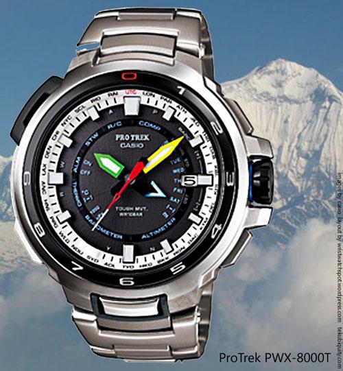 pwx-8000t protrek manaslu new watch collectible price casio