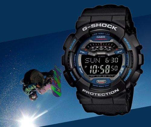 gls-100-1_g-shock extreme winter sports snowboard cordura low temperature watch