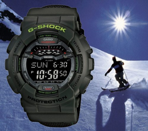 gls-100-3_g-shock g-lide extreme snowboard low temperature watch