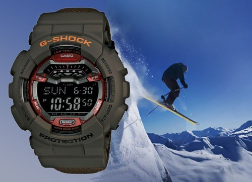 gls-100-5_g-shock g-lide g-ride extreme sports winter low temperature watch