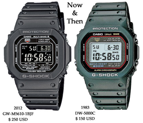 gw5610-1b_dw-5000c retro watch g-shock square original 1983 2012