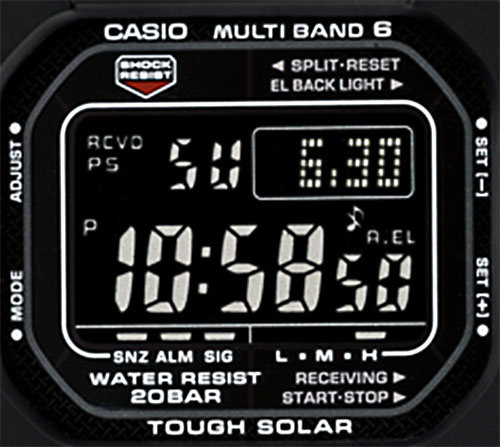 gw5610-1b_retro_dial face 2012 atomic solar new watch g-shock