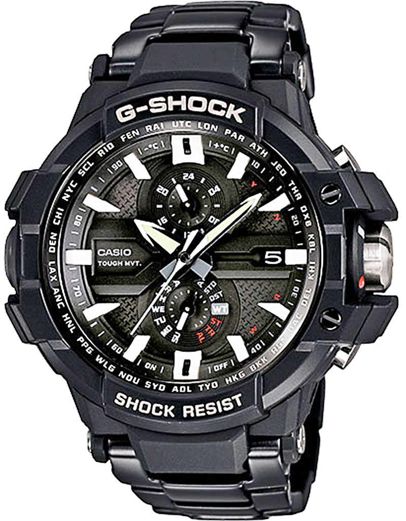 Gw a1000 aviation series g shock wrist watch spot for Watches g shock
